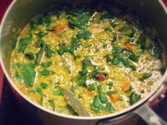 Detox Dal: Ayurvedic Winter Soup For Cleansing Postpartum recipes Aryuvedic Recipes, Detox Recipes, Vegetarian Recipes, Dinner Recipes, Healthy Recipes, Healthy Food, Healthy Eating, Yummy Food, Winter Detox
