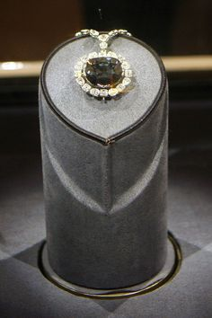 """Hope Diamond (250 million)  Among the most romanticized jewels in the world, the Hope Diamond is housed at the Smithsonian's National Museum of Natural History and considered the second-most visited piece of art in the world (behind the """"Mona Lisa""""). Discovered in India in 1812, the 45.52-carat blue-gray stone has had many owners over the years, including Harry Winston, Pierre Cartier, and Lord Francis Hope, for whom it is named. The diamond is also said to be cursed—including the alleged…"""