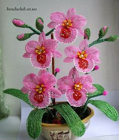 Art-n-Crafts: Beaded Flowers