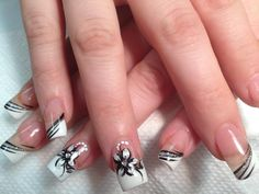 black-and-silver-nail-tip-designs.jpg (960×720)
