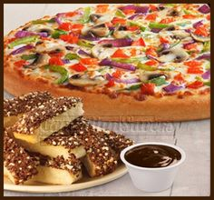 Pizza Hut Canada Deal: FREE Hershey's Choco Dunkers WUB a Large Pizza!