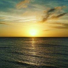 Morgens um 7 Uhr in Thiessow #sunrise #sonne #ostsee #früh #herbst #sonnenaufgang #mv #thiessow #rügen #ruegenisland #Mönchgut