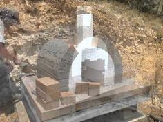Building a Pizza Oven with the BrickWood Ovens foam form for easy DIY Pizza Ovens