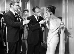 """The ultimate Gamine, Audrey Hepburn, in one of my fave scenes from one of my fave movies, """"Breakfast At Tiffany's."""" George Peppard makes excellent eye candy too... #classic"""