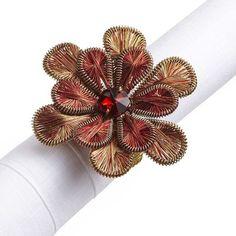 Spice Flower Napkin Ring
