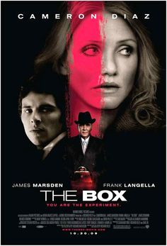 The Box (2009) by Richard Kelly ♥♥♥♡♡ A small wooden box arrives on the doorstep of a married couple, who know that opening it will grant them a million dollars and kill someone they don't know