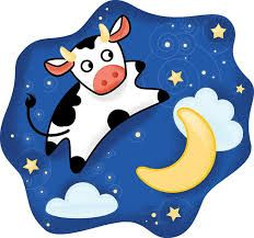Image result for cow jumped over moon applique