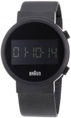 0a3a609f233 Relógio Braun Men s BN0036BKBKMHG Classic Digital Digital Display Quartz  Black Watch  Relógio  Braun Tops