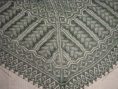 Ravelry: Project Gallery for Fern Glade pattern by Dorothy Siemens