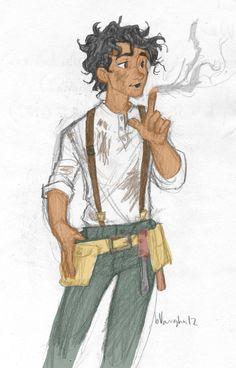 leo valdez | Leo Valdez [Colored] by thelyssymarie on deviantART