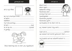 Print PDFVooral aan het eind van het schooljaar is het erg leuk om een vriendenboekje van de klas te maken....