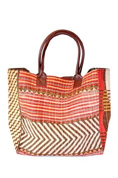 sari bag-beautiful color and pattern combinations