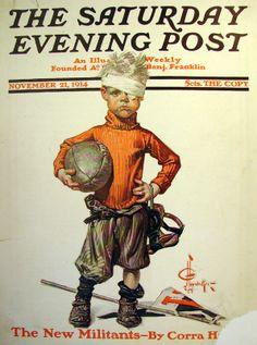 November 21, 1914  JC Leyendecker   Saturday Evening Post