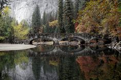 The Ahwahnee Bridge over the Merced River in #Yosemite, California is one of the historic sights in danger of extinction.