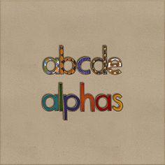Tricks & Treats Alphas Mega Pack by HarperFinchDesigns on Etsy