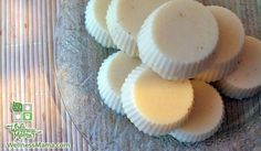 FOR VALENTINE'S DAY: how to make homemade lotion bars recipe