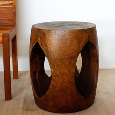 Hand-crafted Open-window Acacia Wood Accent Table (Thailand)   Overstock.com Shopping - The Best Deals on Coffee, Sofa & End Tables