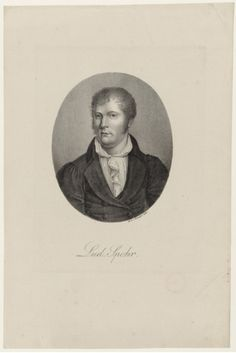 Louis Spohr [born Ludewig Spohr] (1784-1859), lithograph (1821), by Heinrich Winter (1788-1825), published in Portraite der berühmtesten Compositeurs der Tonkunst, plate 86.