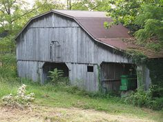 Barn And Tractor by ~Momma B~, via Flickr