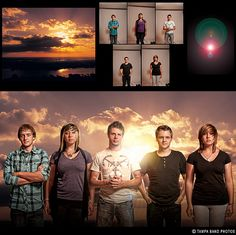 "Christian rock band GlorySound.  See more ""before & afters"" here:  http://tampabandphotos.com/before-after"