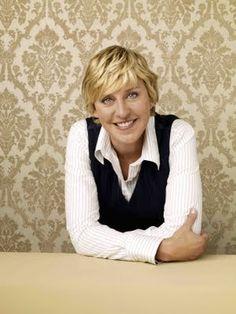 Ellen is definitely my favourite talk show host