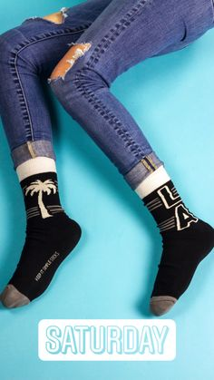 Keep It Simple, High Socks, Nyc, Legs, Collection, Fashion, La La Land, Moda, Thigh High Socks