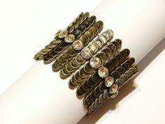 Vintage Stretch Bracelet  Expansion Bracelet  by MURPHYSTREASURES2, $19.95