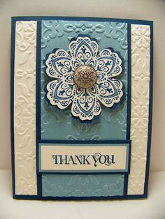 Shelly's Stamping Blogspot: PPA Color Challenge Card