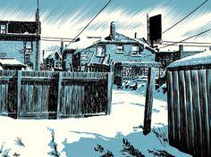 Michael Cho - Toronto Back Alleys