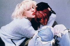 Courtney Love and Kurt Cobain -- I'll always want to dress as them for a couples' costume one day.