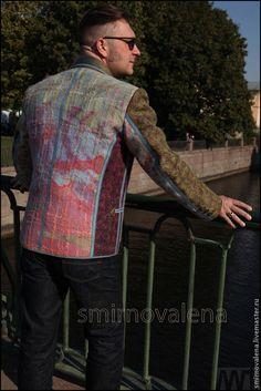 Для мужчин, ручной работы. Ярмарка Мастеров - ручная работа Пиджак мужской Осенний Бит. Handmade.