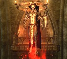skyrim vampire lord - Google Search