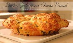 Dad's Jalapeno Cheese Bread #shop