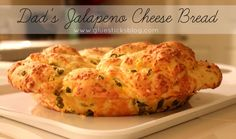 Dad's Jalapeno Cheese Bread {Lindsay Peppers #freshfinds}