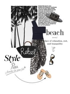 """""""Best summer weekend outfit with Pasha Jewelry for your feet"""" by lacas ❤ liked on Polyvore featuring Chanel, Preen, Rosetta Getty, Eugenia Kim, Jennifer Fisher, pasha, JewelryForYourFeet, pashasandals and pashajewelryforyourfeet"""