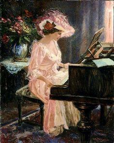 Nenad Mirkovich; rarely seen piano hat action!