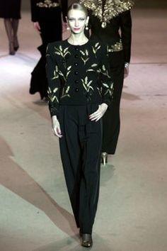 Saint Laurent Spring 2002 Couture