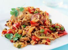 Découvrez la recette Paëlla au Thermomix sur cuisineactuelle.fr.