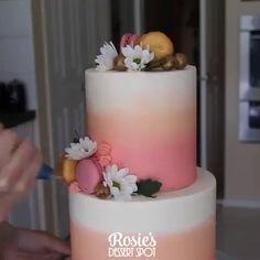 Precious Birthday Cake - MetDaan Cakes - Precious Birthday Cake Any birthday party coming up? Cake Decorating Frosting, Cake Decorating Designs, Creative Cake Decorating, Cake Decorating Techniques, Cake Decorating Tutorials, Creative Cakes, Cake Designs, Pretty Cakes, Beautiful Cakes