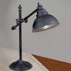 Industrial Swing Arm Lamp