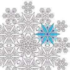 Image result for snowflake mandala coloring page