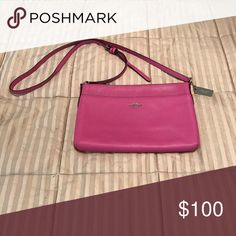 Coach bag Brand new. Excellent price. Wallets are more money than the pricing of this bag. Coach Bags Crossbody Bags