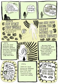 How to be a Silent Witness to Your Thoughts: An Illustrated Guide