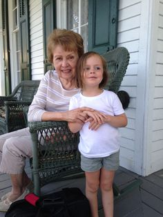 Grandma and Ava