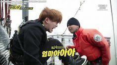 """Ommaaaa!! Hahaha. So cutee  >.< #Wonho #MonstaX  """"160209 Monsta X Right Now Ep.6"""""""