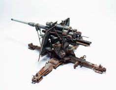Dragon 1/35 scale 88mm Flak 37 by Gaomubaobao