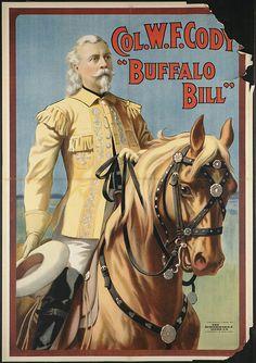 """gameraboy:  Col. W.F. Cody """"Buffalo Bill"""" by Boston Public Library on Flickr.1908"""