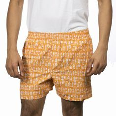 DAARU MEN ORANGE BOXER SHORTS