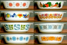 Pyrex from England.. Who knew?                                                                                                                                                                                 More