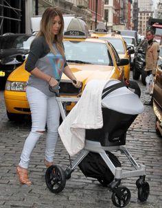 Kim Kardashian à la cool avec sa fille North West